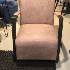 Fauteuil Taupe Industrial